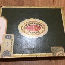 Cajas de Puros: CAJA PUROS LA FLOR DE CANO VACIA. Lote 181202232
