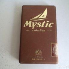 Cajas de Puros: CAJA DE 5 SEÑORITAS. MYSTIC.NEOS ORIGINALS.. Lote 181212861