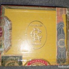 Cajas de Puros: ANTIGUA CAJA DE PUROS CIFUENTES.HABANA -VACÍA-. Lote 181416407