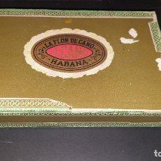 Cajas de Puros: CAJA DE PUROS LA FLOR DE CANO. Lote 181443643