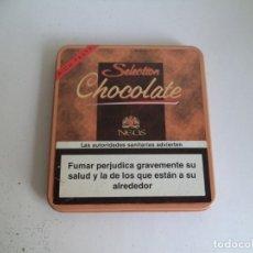 Cajas de Puros: CAJA DE 10 CIGARS SELECTION CHOCOLATE. NEOS.. Lote 181467262