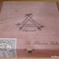 Cajas de Puros: CAJA PUROS MONTECRISTO ESPECIAL . Lote 181607605