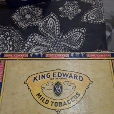 Cajas de Puros: CAJA DE PUROS VACIA KING EDWARD. Lote 181742582