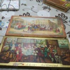 Cajas de Puros: DOS CAJAS DE PUROS ANTIGUAS. Lote 181957032
