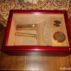 Cajas de Puros: CAJA HUMIDIFICADOR DE PUROS.. Lote 182017847