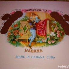 Cajas de Puros: CAJA DE PUROS ROMEO Y JULIETA LOTE 2. Lote 182144880