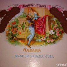 Cajas de Puros: CAJA DE PUROS ROMEO Y JULIETA LOTE 5. Lote 182146156