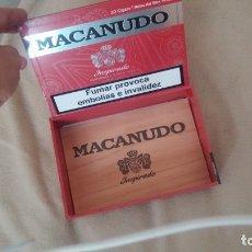 Cajas de Puros: CAJA MACANUDO MADERA MACIZA. Lote 182267796