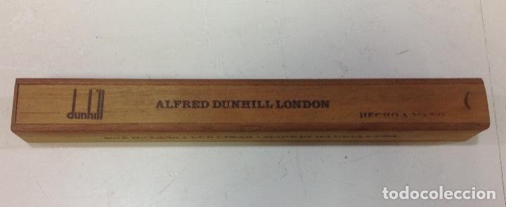 PURO ALFRED DUNHILL-LONDON, LA HAVANA, CUBA, EN SU CAJA ORIGINAL (Coleccionismo - Objetos para Fumar - Cajas de Puros)