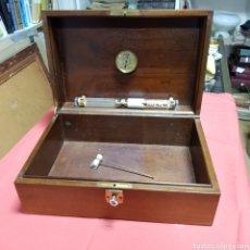Cajas de Puros: GRAN CAJA HUMIDOR PARA PUROS DE MADERA GRAN TAMAÑO DUMAN FRANCE. Lote 182483643