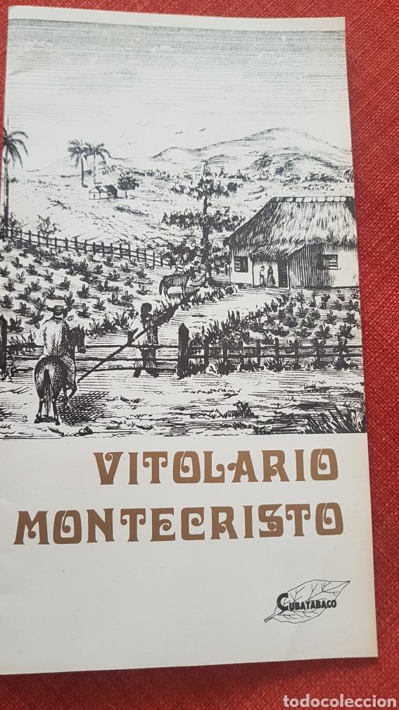 CATALOGO CAJAS PUROS HABANOS MONTECRISTO BY CUBATABACO (Coleccionismo - Objetos para Fumar - Cajas de Puros)