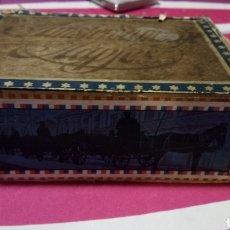 Cajas de Puros: CAJA DE PUROS, ANTIGUA MUY RARA. Lote 182844718