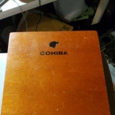 Cajas de Puros: CAJA DE PUROS COHIBA LANCEROS. Lote 182895015