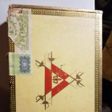 Cajas de Puros: CAJA DE PUROS MONTECRISTO N°4. Lote 182896707