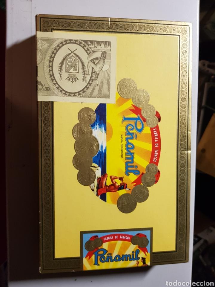 CAJA DE PUROS PEÑAMIL N°2 5 PUROS EN EL INTERIOR (Coleccionismo - Objetos para Fumar - Cajas de Puros)