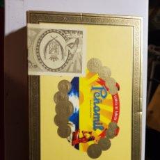 Cajas de Puros: CAJA DE PUROS PEÑAMIL N°2 5 PUROS EN EL INTERIOR. Lote 182900543
