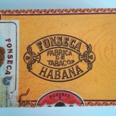 Cajas de Puros: CAJA DE PUROS FONSECA AROMAS 25 - VACÍA - HABANOS CUBA TABACO. Lote 183015957