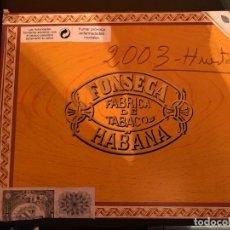 Cajas de Puros: CAJA FONSECA VACÍA. Lote 183063781