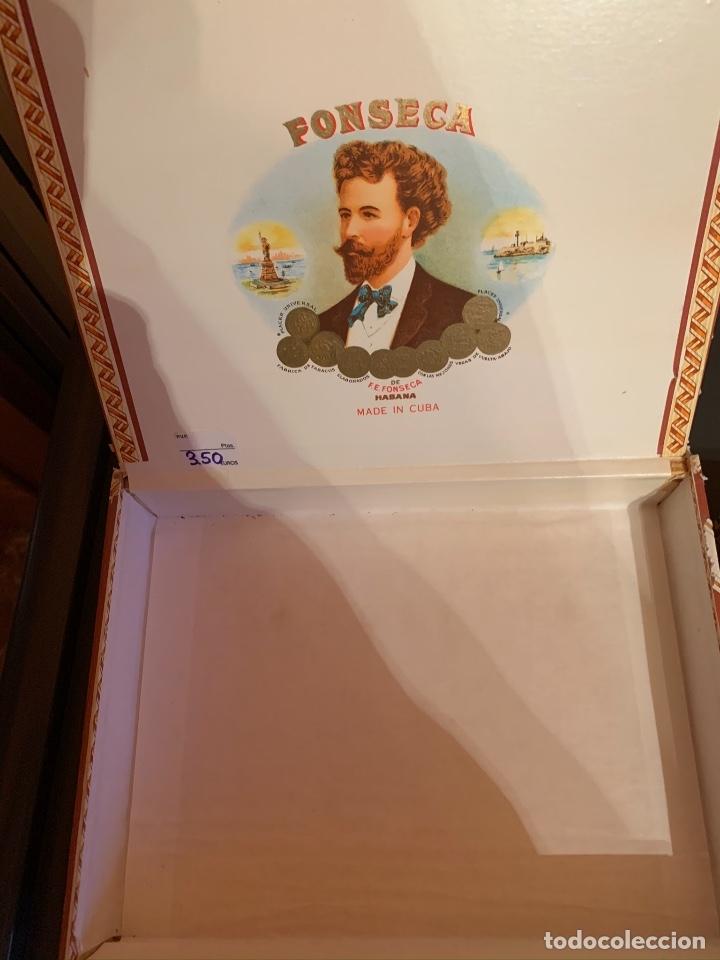 Cajas de Puros: Caja Fonseca vacía - Foto 2 - 183063781