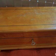 Cajas de Puros: ANTIGUA CAJA DE PUEOS HUMIDOR MONTECRISTO B HABANA CUBA. Lote 183167676