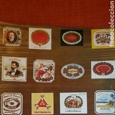Cajas de Puros: CATALOGO DE PUROS HABANOS CUBATABACO 1971. Lote 183168227