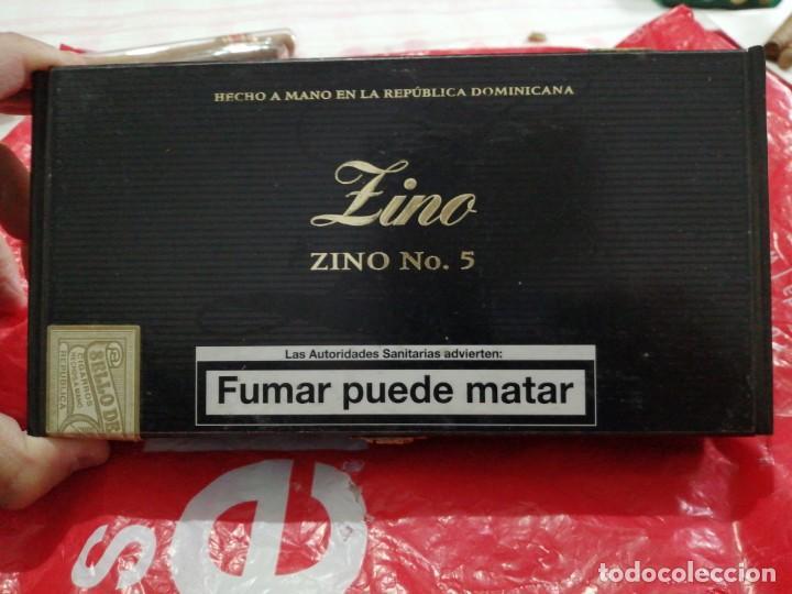 Cajas de Puros: LOTE DE 7 PUROS Y CAJA DIFERENTES MARCAS - Foto 5 - 183401738