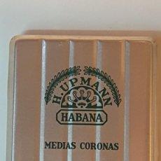 Cajas de Puros: MAGNIFICA CAJA DE PUROS HABANOS H.UPMANN, MEDIAS CORONAS (LE FALTA UN CIGARRO). Lote 183432226