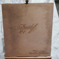 Cajas de Puros: MAGNIFICA Y ANTIGUA CAJA DE PUROS DAVIDOFF Nº1 (VACIA). Lote 183506396