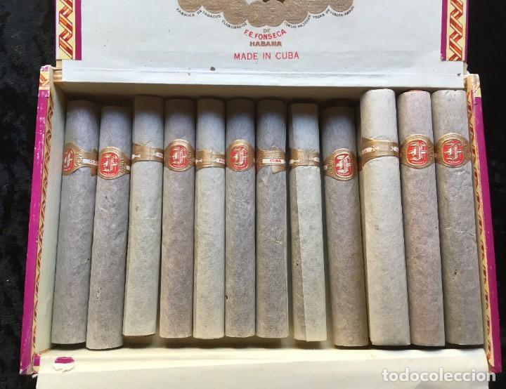 CAJA CON 15 DELICIAS - HABANOS FONSECA - HABANA - PUROS (Coleccionismo - Objetos para Fumar - Cajas de Puros)