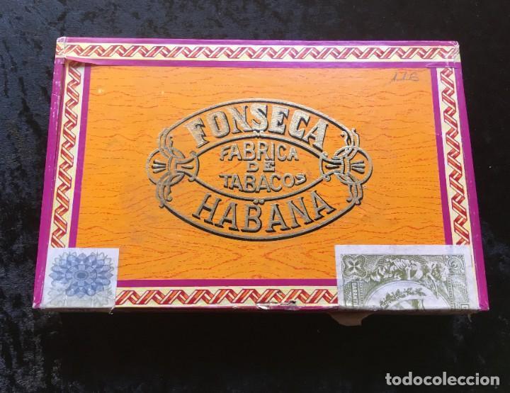 Cajas de Puros: CAJA CON 15 DELICIAS - HABANOS FONSECA - HABANA - PUROS - Foto 2 - 183521271