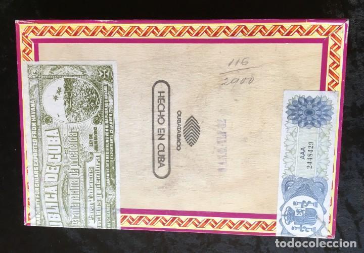 Cajas de Puros: CAJA CON 15 DELICIAS - HABANOS FONSECA - HABANA - PUROS - Foto 4 - 183521271