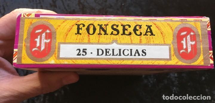 Cajas de Puros: CAJA CON 15 DELICIAS - HABANOS FONSECA - HABANA - PUROS - Foto 5 - 183521271