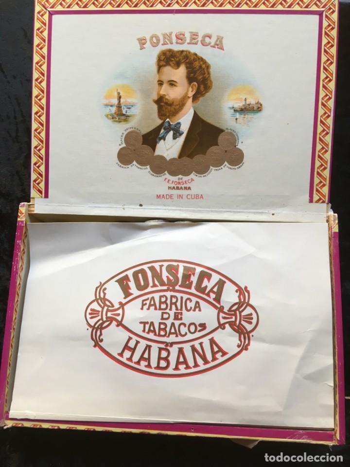 Cajas de Puros: CAJA CON 15 DELICIAS - HABANOS FONSECA - HABANA - PUROS - Foto 6 - 183521271