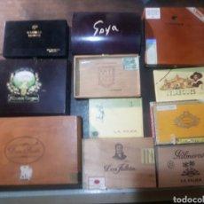 Cajas de Puros: CAJAS VACÍAS PUROS. Lote 183721436