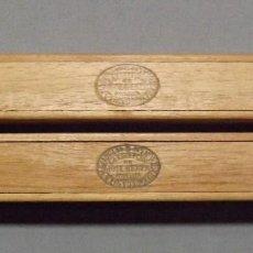 Cajas de Puros: DOS PUROS LA ESCEPCIÓN DE JOSE GENER HABANA, GRAN GENER, HECHO EN CUBA. Lote 183748101