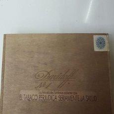 Cajas de Puros: MAGNIFICA Y ANTIGUA CAJA DE PUROS DAVIDOFF Nº1 (VACIA). Lote 183830076