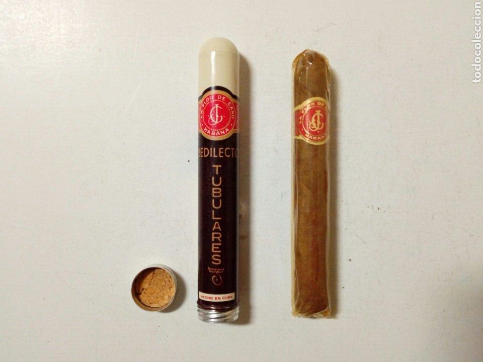 1 PURO HABANO - LA FLOR DE CANO PREDILECTO TUBULARES - HABANA, CUBA - (Coleccionismo - Objetos para Fumar - Cajas de Puros)