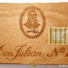 Cajas de Puros: CAJA DE PUROS DON JULIÁN Nº1. Lote 241702460