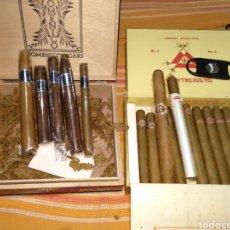 Cajas de Puros: LOTE DE PUROS VARIAS MARCAS. Lote 184344646