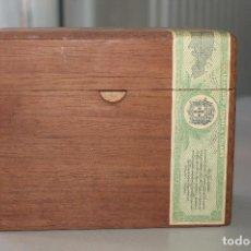 Cajas de Puros: MACANUDO, ANTIGUA CAJA DE PUROS, 19X10X15 CM. Lote 184617463