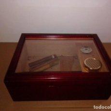 Cajas de Puros: CAJA HUMIDIFICADOR DE PUROS. Lote 184682205