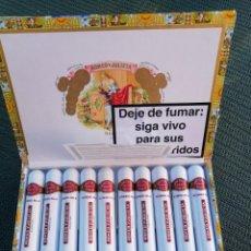 Cajas de Puros: CAJAS VACÍAS DE PUROS CUBANOS. Lote 184788595