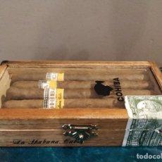 Cajas de Puros: CAJA COHIBA PANETELAS - HABANOS HECHOS EN CUBA. Lote 233741955