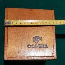 Cajas de Puros: CAJA DE PUROS COHIBA VACIA. Lote 184883437