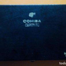 Cajas de Puros: CAJA PUROS COHIBA MADURO 5 HABANA CUBA 25 GENIOS 29,5 X 17 X 5 CM. Lote 184910242
