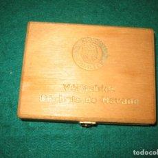 Cajas de Puros: CAJA DE MADERA DE LIONS QUALITY 50 SUPER CIGARRILLOS. Lote 185671353