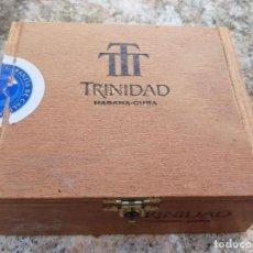 Cajas de Puros: CAJA DE PUROS TRINIDAD HABANA 12 REYES HECHOS EN CUBA CONTIENE 18 PUROS MEDIDAS: 11 X 13 X 4,5. Lote 201545927