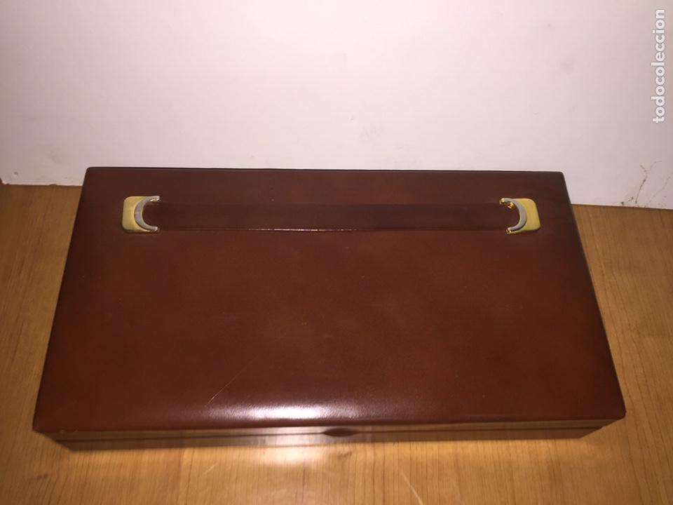 Cajas de Puros: Cigarrera de piel. 33x17x6cm - Foto 2 - 186187276