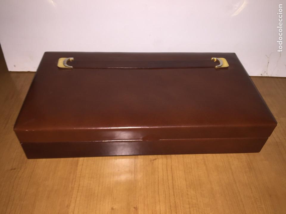 Cajas de Puros: Cigarrera de piel. 33x17x6cm - Foto 3 - 186187276