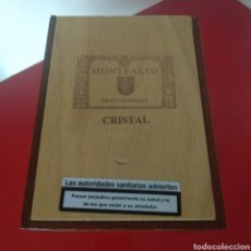 Cajas de Puros: CAJA VACÍA PUROS MONTEALTO. Lote 186321965
